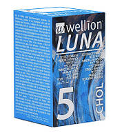 Тест-полоски Wellion Luna №5 chol (холестерин)