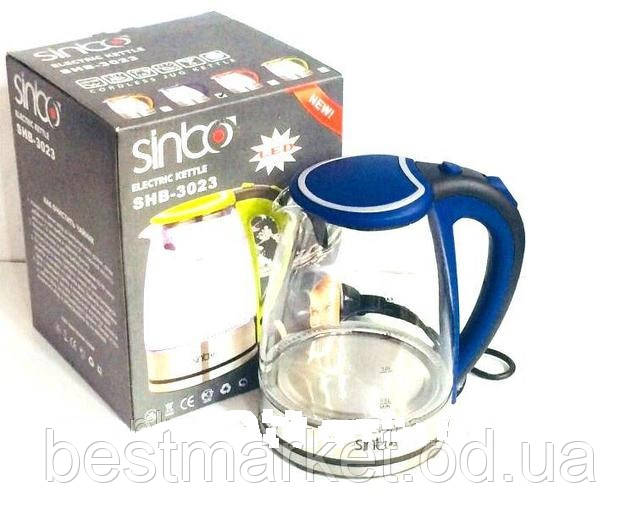 Чайник Стекло 2л SINBO SHB 3023