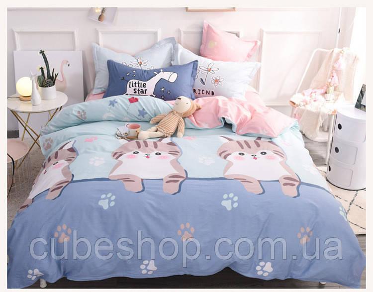 Комплект постельного белья Kittens (двуспальный-евро)