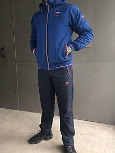 Спортивный костюм Paul & Shark (син,т.син) (зима) (плащевка)