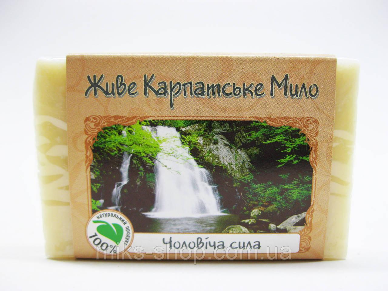 Натуральное мыло «Мужская сила»
