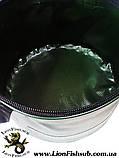 Сумка - Ведро LionFish.sub для прикормки 5 л с крышкой на молнии и ручкой ПВХ, фото 6
