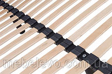 Односпальный каркас под матрас Steel 70х190 ЕММ h25 Viva  на ножках 150кг, фото 3