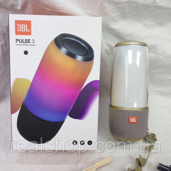 Портативная Bluetooth колонка JBL Pulse 3 gold  (копия)