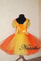 """Карнавальний костюм, юбка-платье из фатина  """"Пони Эпплджек"""", фото 3"""
