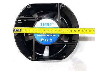 Вентилятор Tidar (220V, 0.29A) 172х150х50 мм (овальный), фото 2