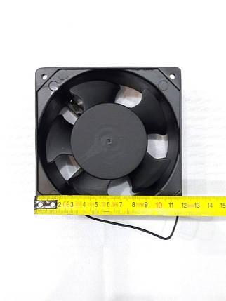 Вентилятор осевой универсальный на втулках 120*120*38 кругло-квадратный (HSL)., фото 2