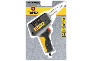 Паяльник электрический 100 Вт, насадки к паяльку, TOPEX  44E002, 44E007, фото 3