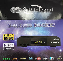 Sat-Integral S-1412 HD Rocket NEW + бесплатная прошивка!