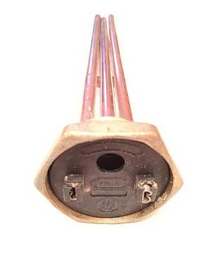Тэн резьбовой гнутый для водонагревателей 3000W без места под анод 290мм Италия., фото 2