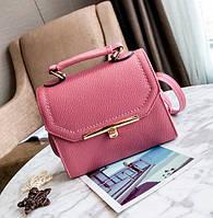 d5b125bb8050 Маленькая женская сумочка клатч Темно-розовый
