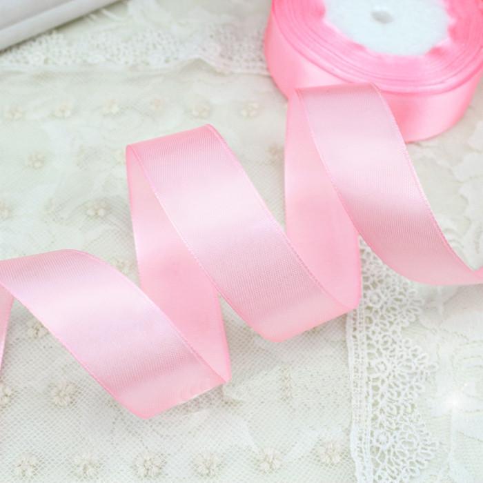 Лента атласная 004 светло-розовая 6 мм