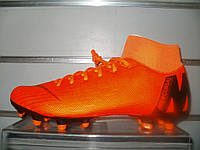 Футбольные бутсы Nike Mercurial Superfly 6 Academy MG Orange