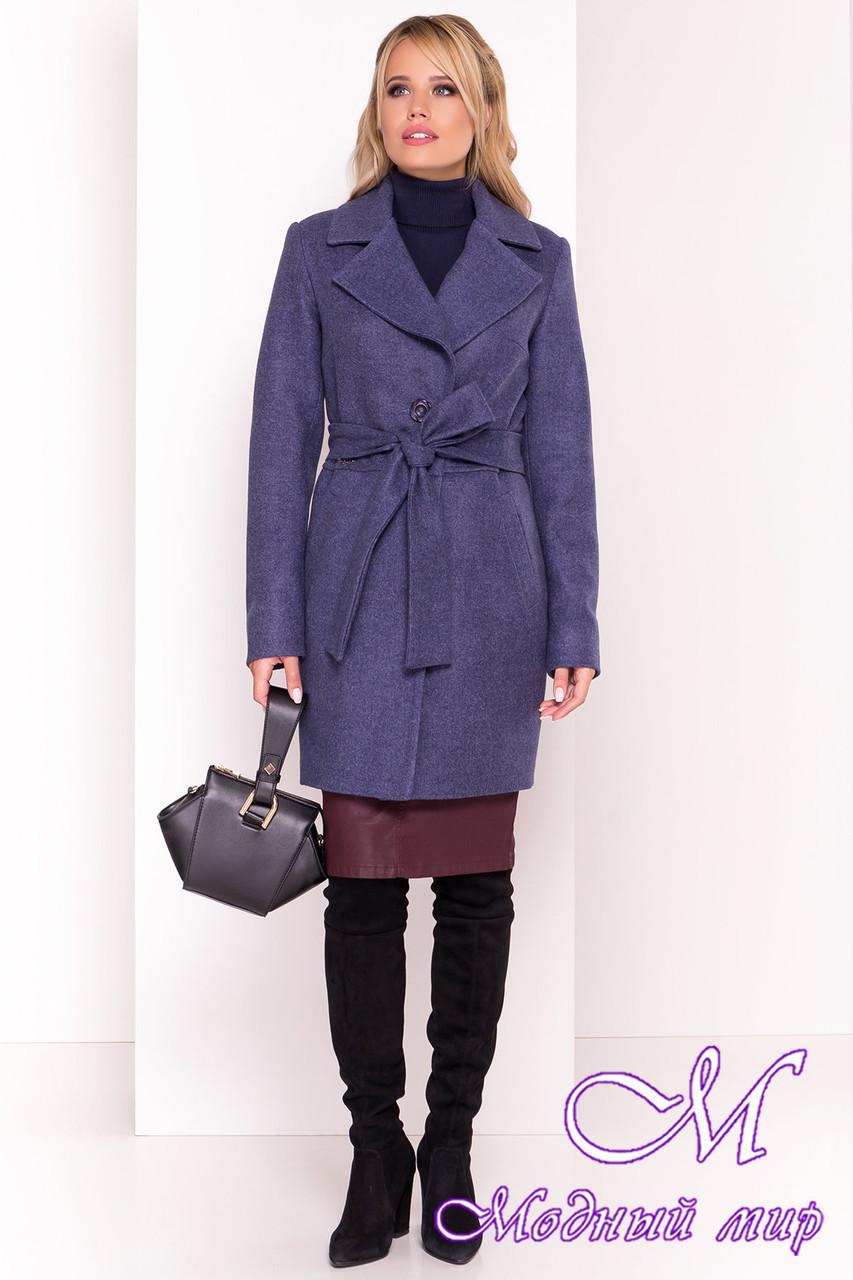 Кашемировое пальто женское осень весна (р. XS, S, M, L) арт. Габриэлла 5558 - 37398