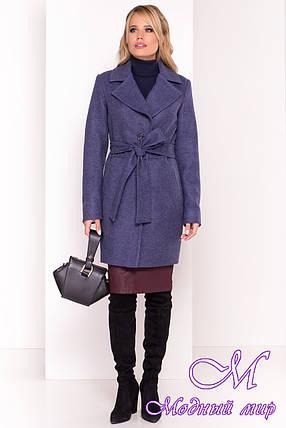 Кашемировое пальто женское осень весна (р. XS, S, M, L) арт. Габриэлла 5558 - 37398, фото 2