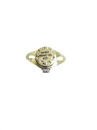 Термоотсекатель KSD303 аварийный / 250V / 10A / на 85°, фото 2