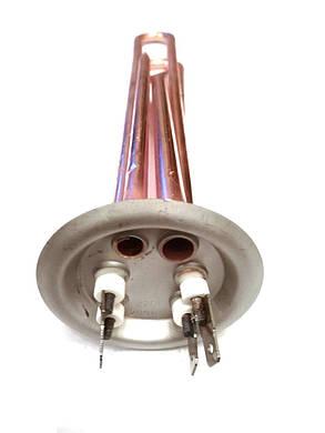 Тэн на фланце прямой для водонагревателей ø63мм / 2000W, фото 2