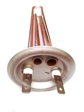 Тэн на фланце прямой для водонагревателей ø63мм / 1300W  / L=305мм, фото 2