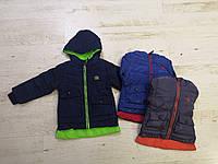 Куртка утепленная для мальчика оптом, Crossfire, 1-5 лет,  № CR96-35, фото 1
