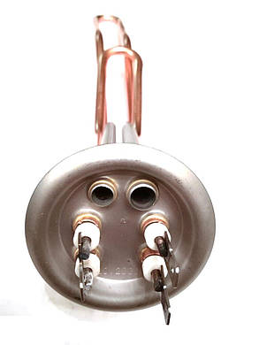 Тэн на фланце Молния для водонагревателей ø63мм / 2000W  / L=340мм Медь, фото 2