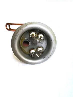 Тэн на фланце гнутый для водонагревателей ø63мм / 2000W / L=295мм / Италия, фото 2