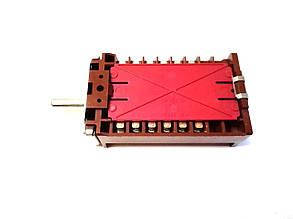 Переключатель 7-ми позиционный ПМ 42.07001.017 для электроплит и духовок / EGO / Германия, фото 2