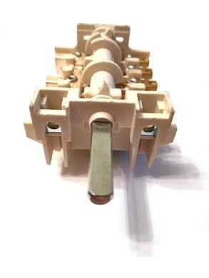Переключатель 7-ми позиционный ПМ 039 для электроплит Италия, фото 2
