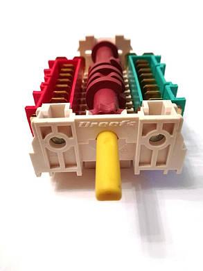 Переключатель 7-ми позиционный ПМ 035 для духовок и духовых шкафов Италия, фото 2