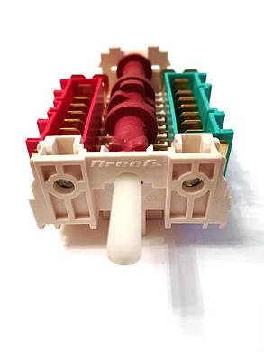 Переключатель 7-ми позиционный ПМ 023 для духовок и духовых шкафов Италия, фото 2