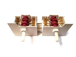 Переключатель двойной 7-ми позиционный ПМ 571 для электроплит Италия, фото 2