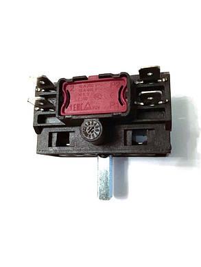 Переключатель 4-x позиционный AC201A / 250V / 16A / T150 для электроплит и духовок / Argeson / Турция, фото 2