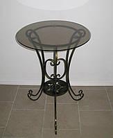 Стол кованый круглый 4 большой, фото 1