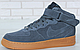 Зимние мужские кроссовки Nike Air Force 1 Mid Winter, найк аир форс зима c мехом, фото 2