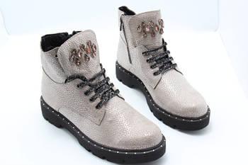 Стильные осенние ботинки ArasShoes 420-Pudra