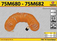 Шланг спиральный воздушный 5 м,  TOPEX  75M680