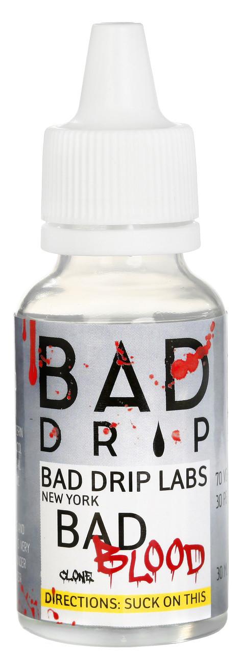 Авторская жидкость  Bad Blood - Bad Drip Labs пластиковый флакон 120 мл., 3 ni