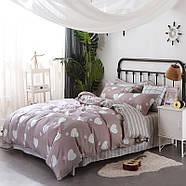 Комплект постельного белья Белое сердце (двуспальный-евро) Berni, фото 2