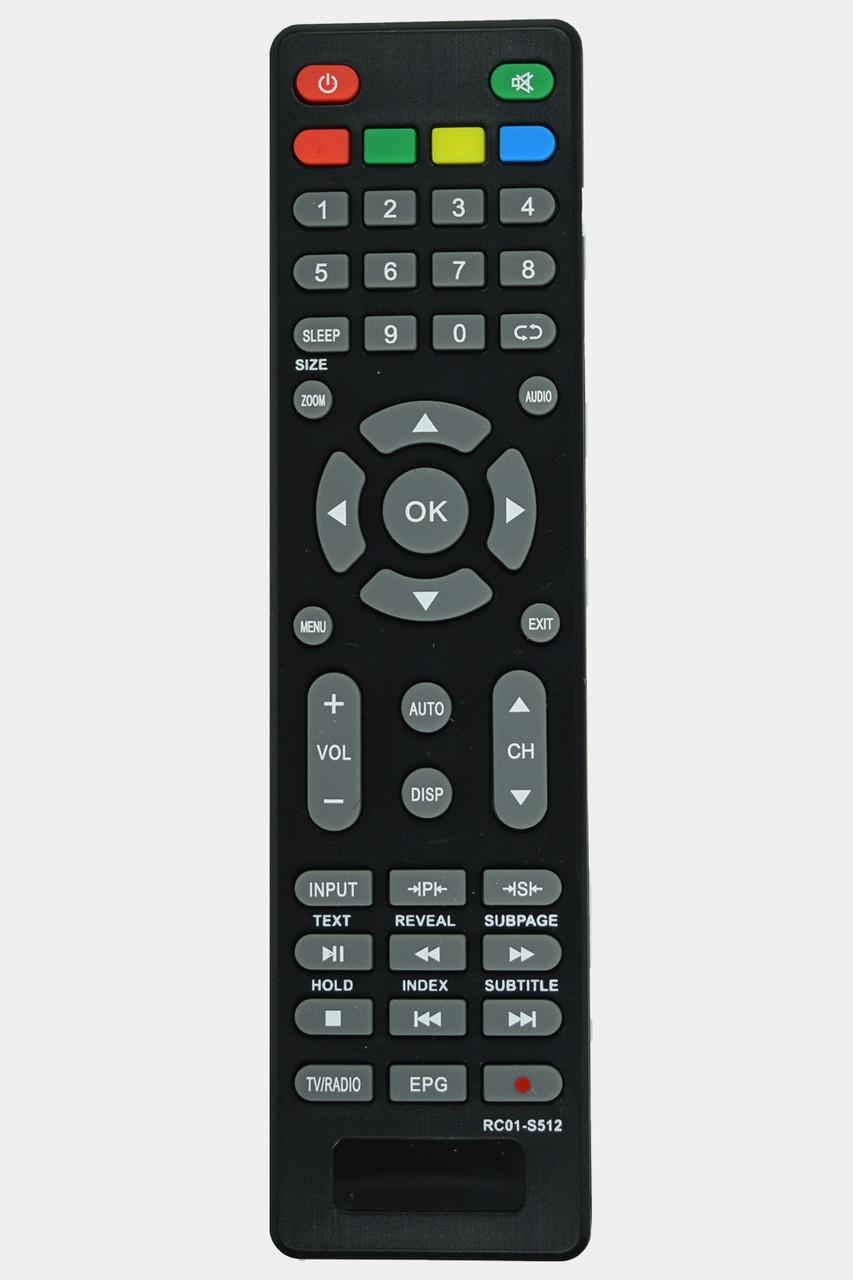 Пульт для TV Bravis RC01-s512, Supra, Akai (LED TV)