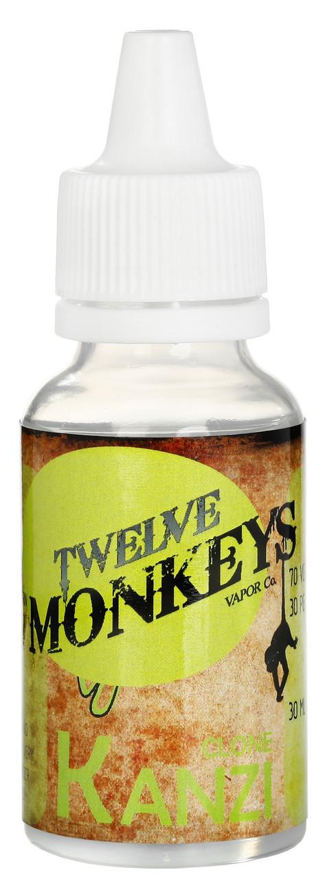 Авторская жидкость  Kanzi - Twelve Monkeys Vapor Co пластиковый флакон 120 мл., 1.5 ni
