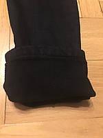 Джинсовые брюки на флисе для мальчиков оптом, F&D, 134-164 рр., арт.F258, фото 6