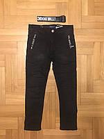 Джинсовые брюки на флисе для мальчиков оптом, F&D, 134-164 рр., арт.F258, фото 2