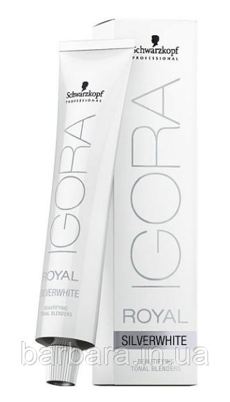 Тонуючий барвник для волосся Igora Royal SilverWhite Schwarzkopf Professional