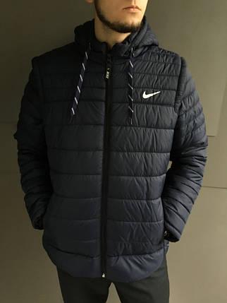 Мужская куртка Nike с отстегивающимися рукавами (трансформер) , фото 2