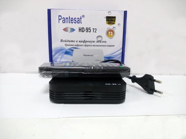 Цифровая приставка Т2 РесиверТюнер DVB-T2 95 HD  с поддержкой wi fi адаптера