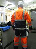 """Костюм дорожника """"Асфальт-Мастер"""" (полукомбинезон и куртка) со светоотражающими полосами, фото 4"""