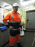 """Костюм дорожника """"Асфальт-Мастер"""" (полукомбинезон и куртка) со светоотражающими полосами, фото 5"""
