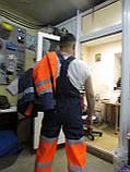 """Костюм дорожника """"Асфальт-Мастер"""" (полукомбинезон и куртка) со светоотражающими полосами, фото 9"""