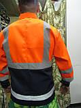 """Костюм дорожника """"Асфальт-Мастер"""" (полукомбинезон и куртка) со светоотражающими полосами, фото 2"""