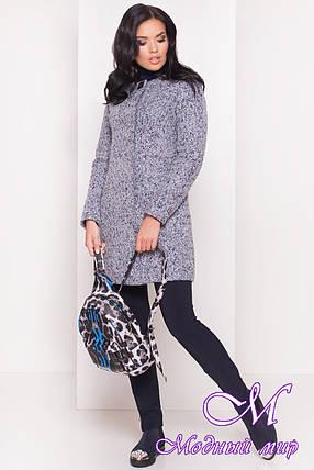 Женское красивое осеннее пальто (р. S, M, L) арт. Фортуна лайт 8181, фото 2