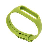 Ремешок для фитнес браслета Xiaomi Mi Band 2 Lime
